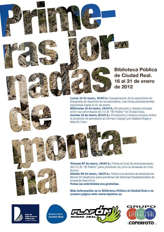 cartel jornadas 2012