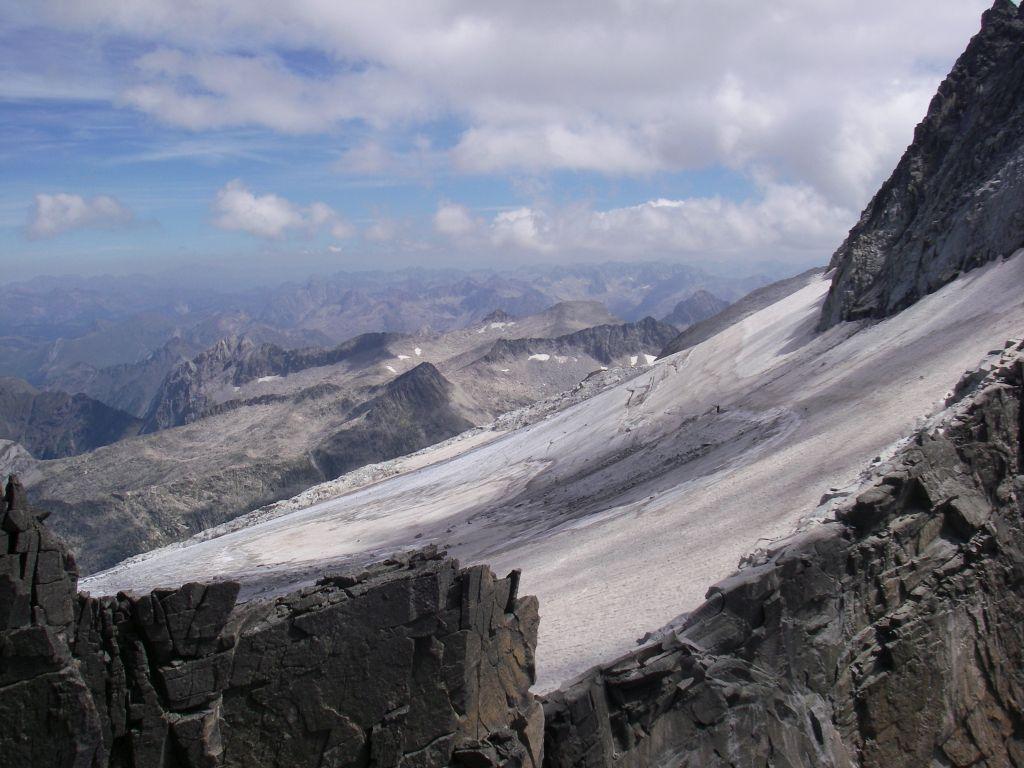 Glaciar del Aneto. Ambiente alpino